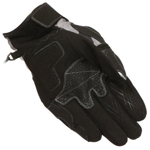 Buffalo Camo Gloves | Black | Grey