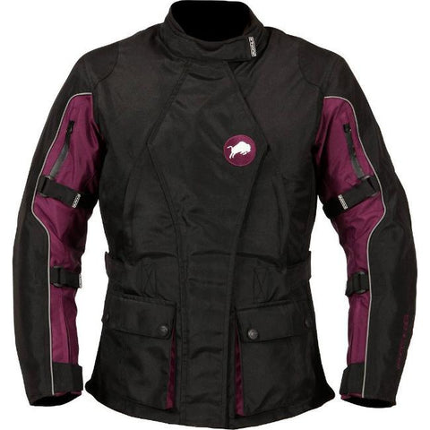 Buffalo Siena Ladies Jacket | Black | Purple
