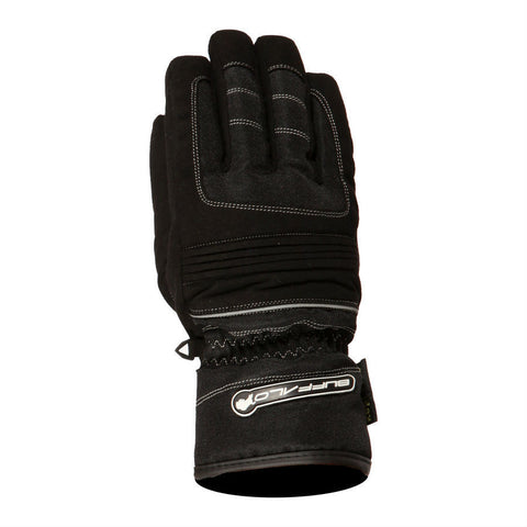 Buffalo Kids Trail Gloves | Black | Silver