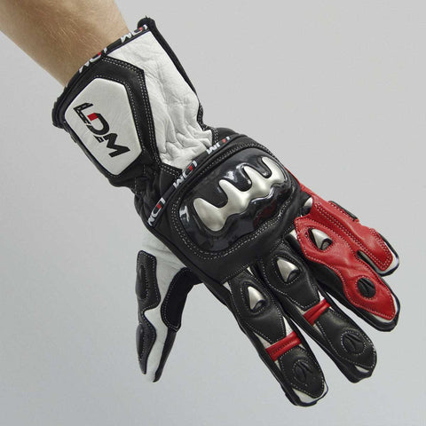 LDM Corsa X1 Glove Red | Black | White