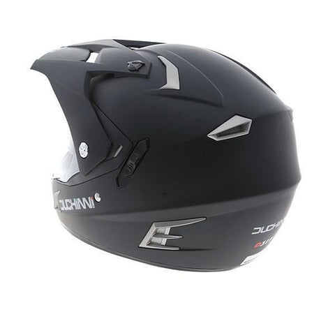 Duchinni D311 Dual Helmet - Matt Black