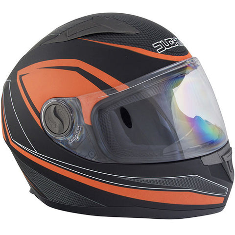 Duchinni D705 Syncro Helmet - Black | Orange