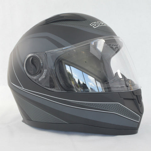 Duchinni D705 Syncro Helmet - Black | Grey
