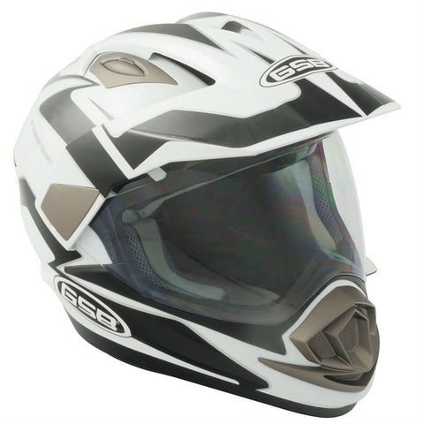 GSB ADVENTURE XP14A Helmet -Black/White