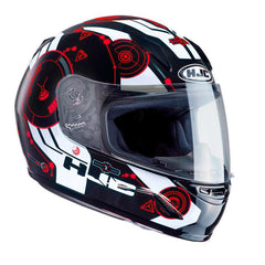 HJC CLY Simitic Kids Helmet - Black | Red