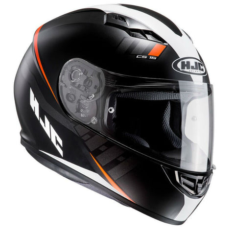 HJC CS-15 Space Helmet - Black | Orange