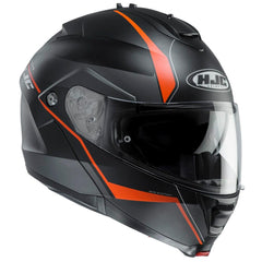 HJC IS-Max 2 Mine Helmet - Black | Orange