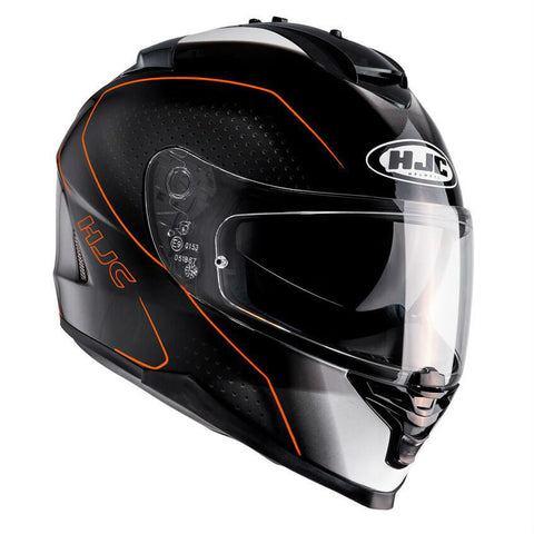HJC IS-17 Arcus Helmet - Black | Orange