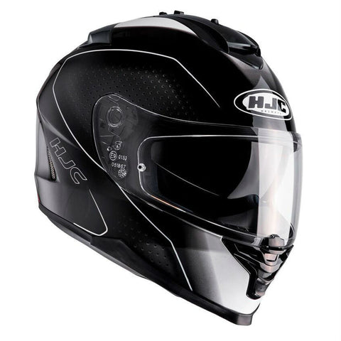 HJC IS-17 Arcus Helmet - Black | White