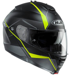 HJC IS-Max 2 Mine Helmet - Black | Yellow
