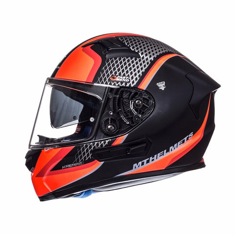MT KRE SV Momentum Helmet - Matt Black | Red