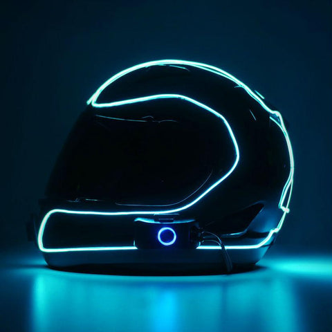 LightMode Electron S Helmet Light Kit - Aqua