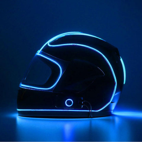 LightMode Electron S Helmet Light Kit - Blue