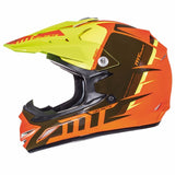 MT MX2 Spec Kids Helmet - Yellow | Orange