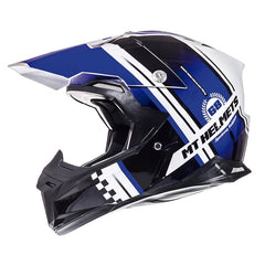 MT Synchrony Endurance Helmet - Black | White | Blue