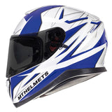 MT Thunder 3 Effect Helmet - Blue | White