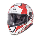 MT Thunder 3 Effect Helmet - Red | White