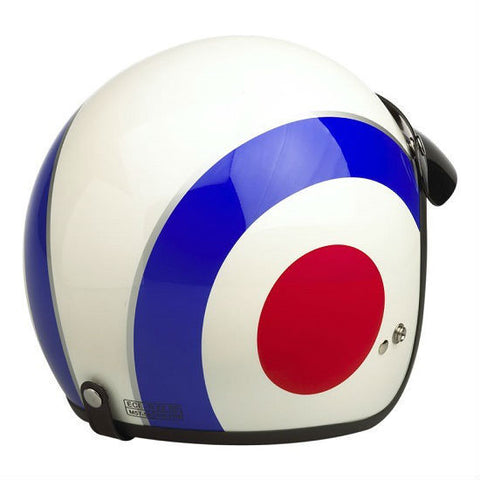 Viper RS04 Target Helmet - Blue | White | Red