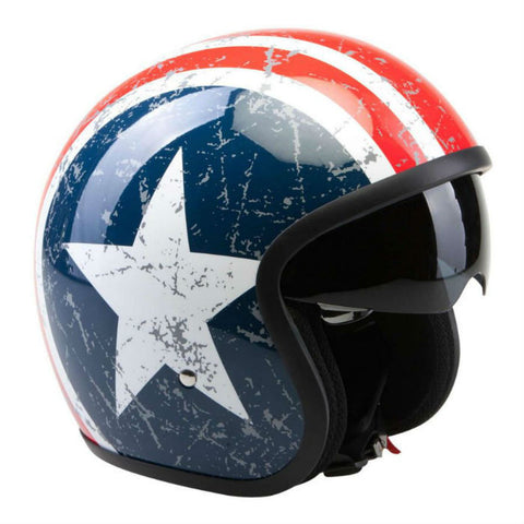Viper RSV06 Helmet US Star - Red | Blue | White