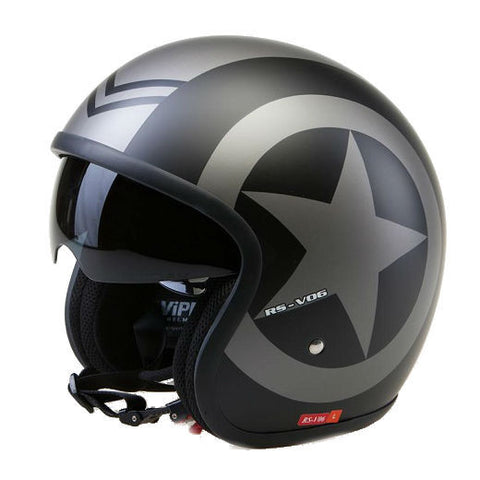 Viper RSV06 Star Helmet - Matt Black