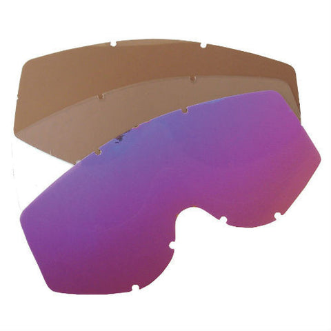 WSGG Goggles Replacement Lenses - Clear x 2