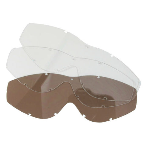 WSGG Youth Goggles Replacement Lenses - Clear x 2