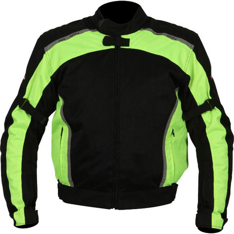 Weise AirSpin Textile Jacket | Black | Neon