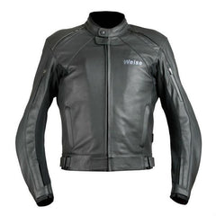 Weise Hydra Leather Jacket | Black