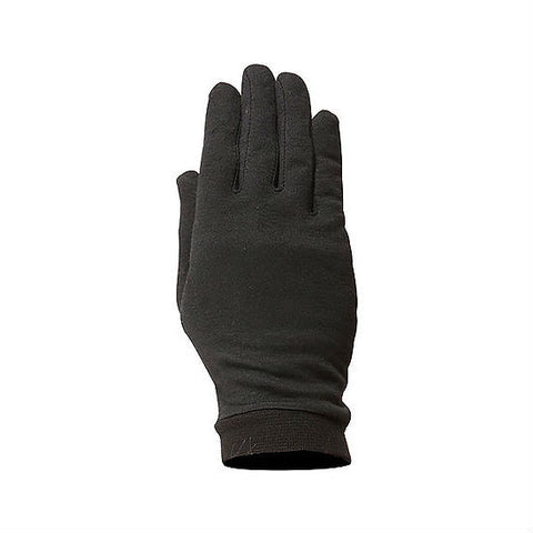 Weise Silk Inner Gloves | Black