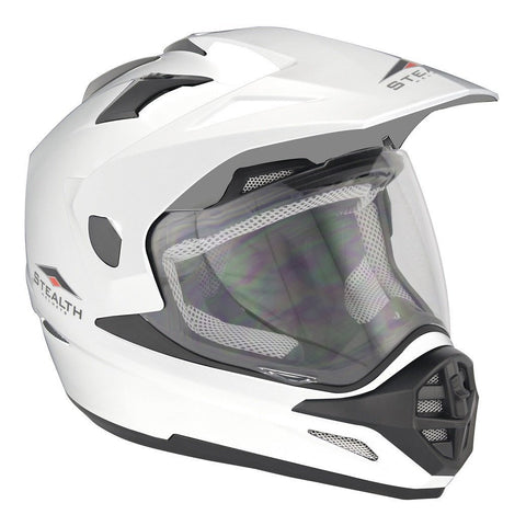 Stealth All Adventure HD009 Helmet - White