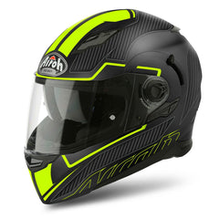 Airoh Movement S Helmet Faster - Matt Black | Yellow