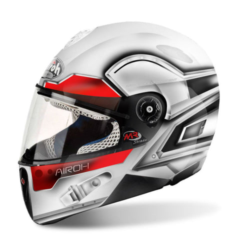 Airoh Mr Strada Kids Helmet Miles - White