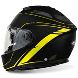 Airoh Phantom S Helmet Lead - Matt Black | Yellow