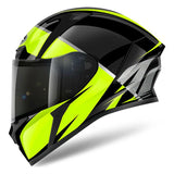 Airoh Valor Helmet Eclipse - Gloss Yellow