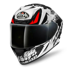 Airoh Valor Helmet Bone - Matt Black | White