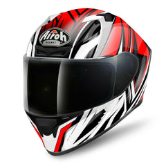 Airoh Valor Helmet Conquered - Gloss Red