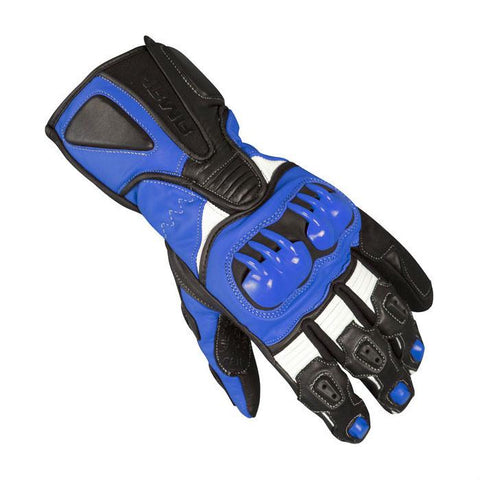 ARMR Moto S235 Leather Gloves | Black | Blue