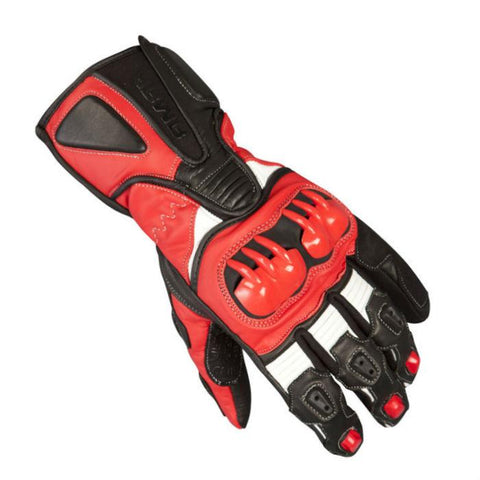 ARMR Moto S235 Leather Gloves | Black | Red