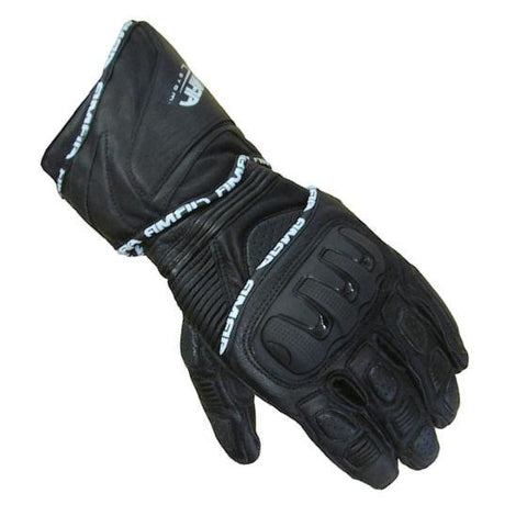 ARMR Moto S550 Leather Gloves | Black