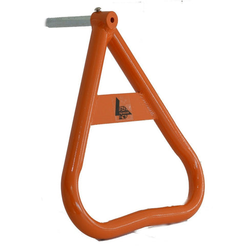 LDM Motocross Universal Triangle Side Axle Stand - KTM Orange