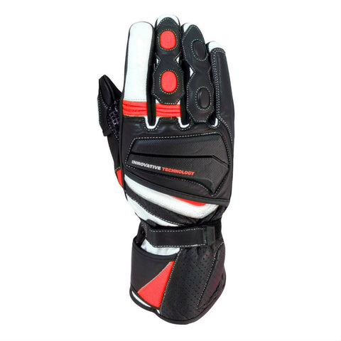 BikeIt Crossfire Summer Glove | Black | Red