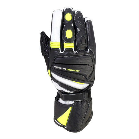 BikeIt Crossfire Summer Glove | Black | Neon