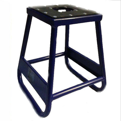 Motocross Motorcycle Box Stand- Yamaha Blue