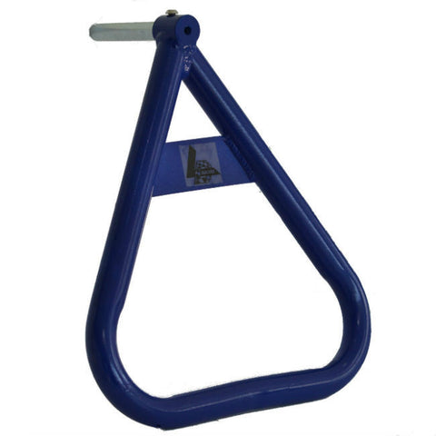 LDM Motocross Universal Triangle Side Axle Stand - Yamaha Blue