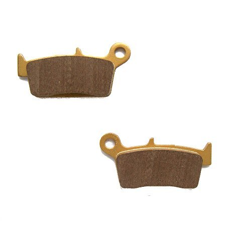 LDM Semi Sintered Kawasaki Rear Brake Pads Off Road