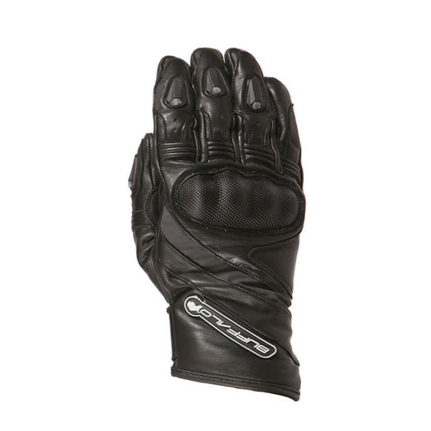 Buffalo Fresco Gloves | Black