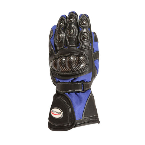 Buffalo Storm Gloves | Black | Blue