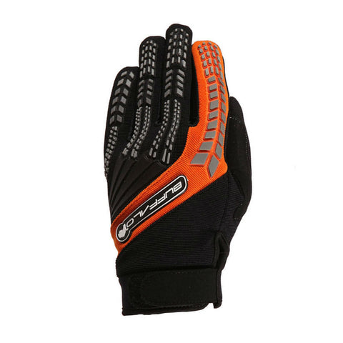 Buffalo Focus Gloves | Black | Orange