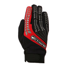 Buffalo Focus Gloves | Black | Red