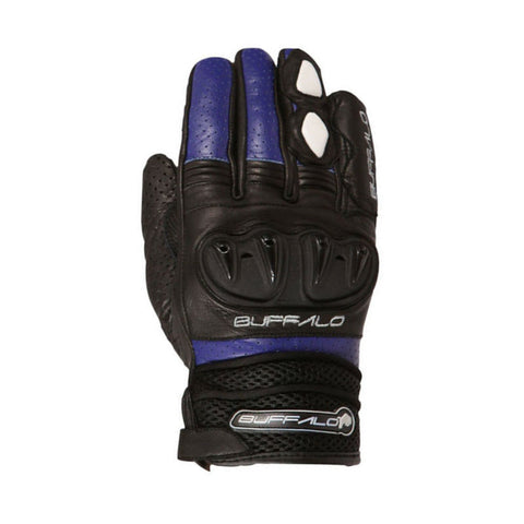 Buffalo Ostro Gloves | Black | Blue